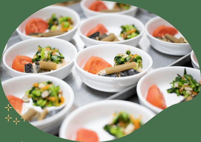栄養士がつくるバランスの良い食事