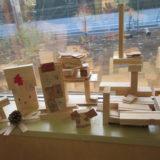 木育活動を始めました。~丸太切り体験・端材で作って遊ぼう~