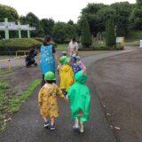 2歳児クラス 雨の日散歩