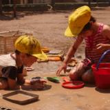 太陽と土と水は子どもの最大の友だち🌞